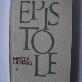 Mircea Ciobanu - Epistole