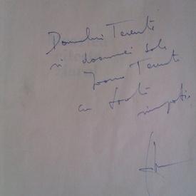 Mircea Dinescu - Moartea citeste ziarul (cu autograf)