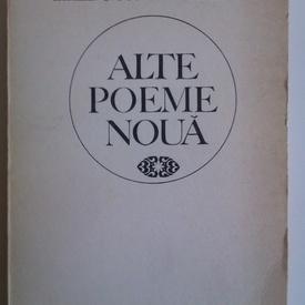 Mircea Ivanescu - Alte poeme noua