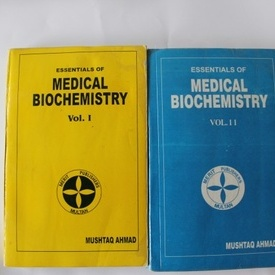 Mushtaq Ahmed - Essentials of Medical Biochemistry (2 vol., editie in limba engleza)