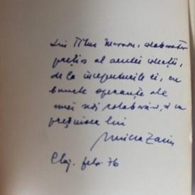 Nicolae Iorga - Peisagii (cu autograful lui Mircea Zaciu)