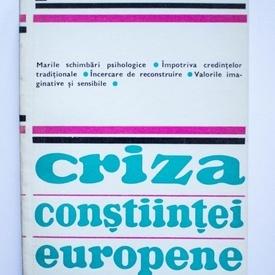 Paul Hazard - Criza constiintei europene (1680-1715)