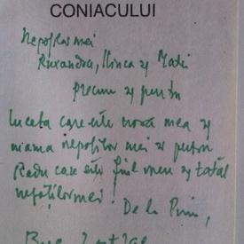 Petre Stoica - Sambelan la curtea coniacului (format liliput, cu autograf)