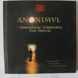 Program-brosura Festivalul de Film International Independent Anonimul (2007)