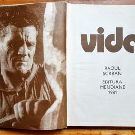 Raoul Sorban - Vida (editie hardcover)