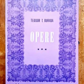 Teodor T. Burada - Opere III. Folclor si etnografie