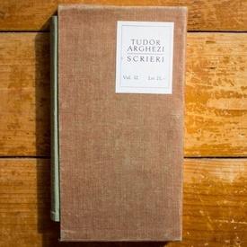 Tudor Arghezi - Versuri. Scrieri 12 (editie hardcover, bibliofila, in caseta speciala)