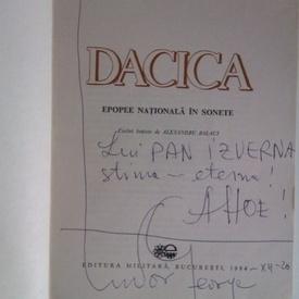 Tudor George - Dacica (cu autograf)