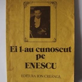 Vasile Bogdan - Ei l-au cunoscut pe Enescu
