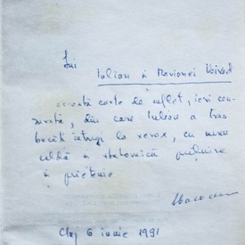 Viorel Cacoveanu - Sfatul medicului (cu autograf)