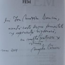 Magda Carneci - FEM (cu autograf)