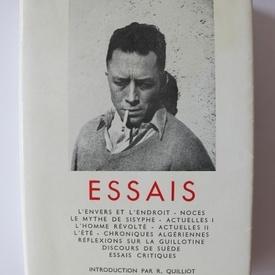 Albert Camus - Essais (editie hardcover, in limba franceza)
