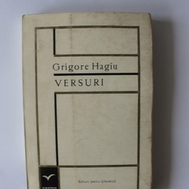 Grigore Hagiu - Versuri