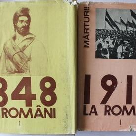 Cornelia Bodea - 1848-1918 la romani. Marturii (2 vol., editie hardcover)
