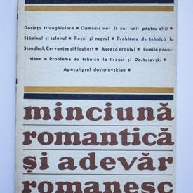 Rene Girard - Minciuna romantica si adevar romanesc
