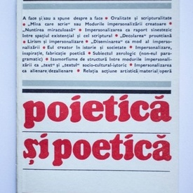 Irina Mavrodin - Poietica si poetica