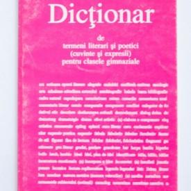 Alexandru Hancu - Dictionar de termeni literari si poetici (cuvinte si expresii) pentru clasele gimnaziale
