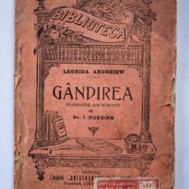 Leonida Andreiew - Gandirea (editie interbelica)