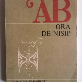 Ana Blandiana - Ora de nisip (cu autograf)