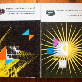 Antologie de poezie - Poezia nordica moderna (Danemarca, Finlanda, Islanda, Norvegia, Suedia) (2 vol.)