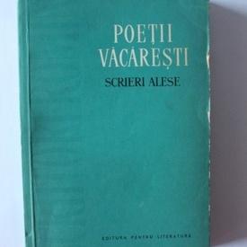 Antologie - Poetii Vacaresti - Scrieri alese