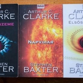 Arthur C. Clarke, Stephen Baxter - Idoodisszeia (Az ido szeme. Napvihar. Elsoszulottek) (3 vol.)