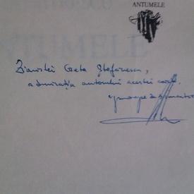 Aurelian Titu Dumitrescu - Antumele (cu autograf)