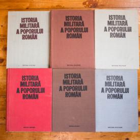 Colectiv autori - Istoria militara a poporului roman (6 vol., editie completa, hardcover)