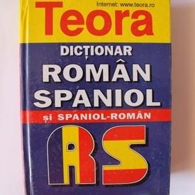 Cristina Haulica - Dictionar roman-spaniol, spaniol-roman (editie hardcover)
