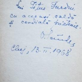 Dino Compagni - Cronica intamplarilor din vremea lui (cu autograful lui Virgil Candea)