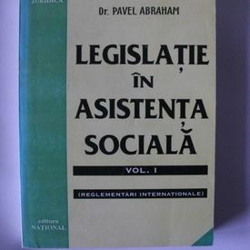 Dr. Pavel Abraham - Legislatie in asistenta sociala