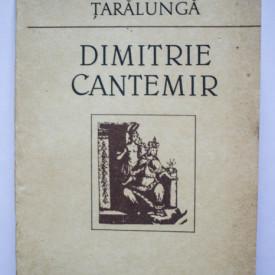 Ecaterina Taralunga - Dimitrie Cantemir. Contributii documentare la un portret
