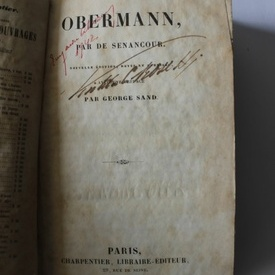 Etienne Pivert de Senancour - Obermann (editie hardcover)