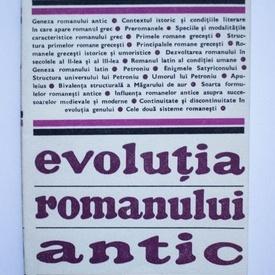 Eugen Cizek - Evolutia romanului antic