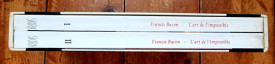 Francis Bacon - L`art de l`impossible. Entretiens avec David Sylvester (2 vol., in caseta speciala)