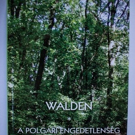 Henry David Thoreau - Walden (editie hardcover, in limba maghiara)