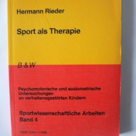 Hermann Rieder - Sport als Therapie (editie in limba germana)