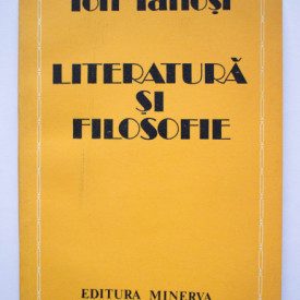 Ion Ianosi - Literatura si filosofie