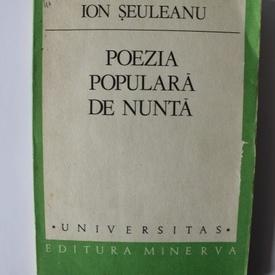 Ion Seuleanu - Poezia populara de nunta