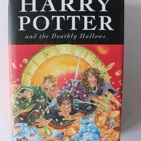 J.K. Rowling - Harry Potter and the Deathly Hallows (editie hardcover)