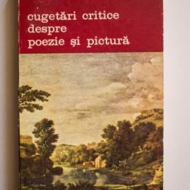 Jean-Baptiste Du Bos - Cugetari critice despre poezie si pictura