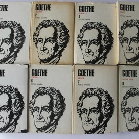 Johann Wolfgang von Goethe - Opere complete (8 vol., editie hardcover)