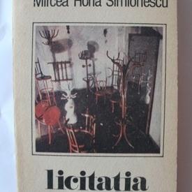 Mircea Horia Simionescu - Licitatia