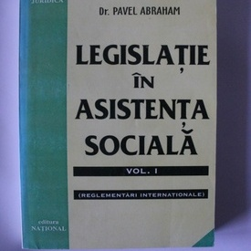 Pavel Abraham - Legislatie in asistenta sociala