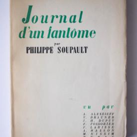 Philippe Soupault - Journal d`une fantome