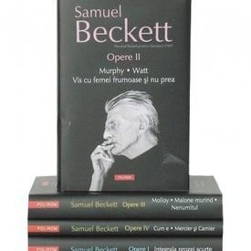 Samuel Beckett - Opere I-IV (4 vol., editie hardcover)