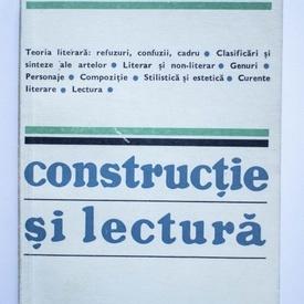Silvian Iosifescu - Constructie si lectura