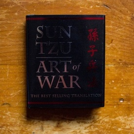 Sun Tzu - The Art of War (the best selling translation) (editie hardcover, format liliput)