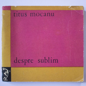 Titus Mocanu - Despre sublim