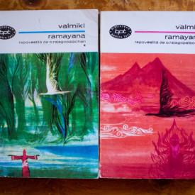 Valmiki - Ramayana (epopee indiana repovestita de C. Rajagopalachari) (2 vol.)